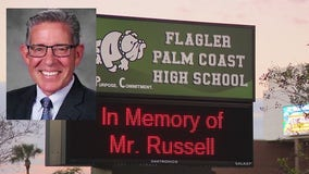 Flagler Palm Coast High School holds tribute to honor principal who died from COVID-19