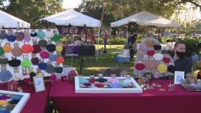 Winter Park holds first outdoor holiday market for small businesses