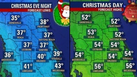 Coldest Christmas since 1995 in store for Central Florida