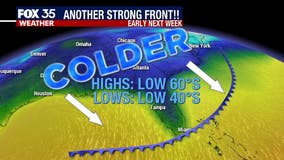 Series of fronts to bring yet another chill to Florida
