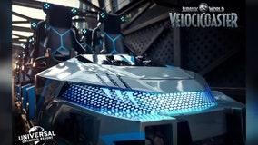 Universal Orlando gives sneak peek at new Jurassic World VelociCoaster