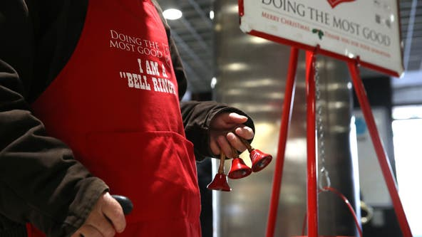 Orlando church members volunteer to be Salvation Army bell ringers