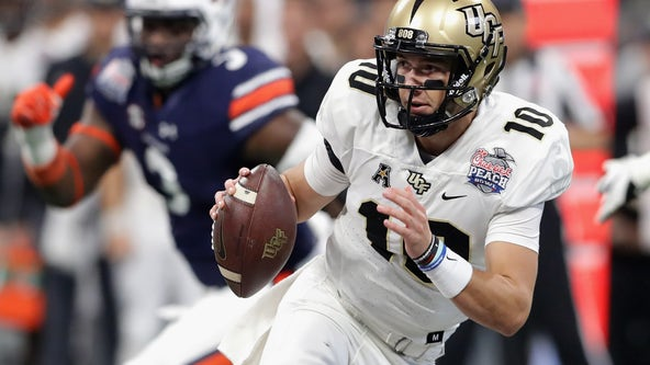 College football quarterback McKenzie Milton says he's leaving UCF