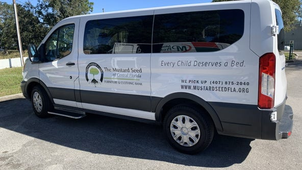 Mustard Seed's stolen van replaced thanks to Central Florida community