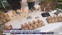Lake Speer Sidewalk Market