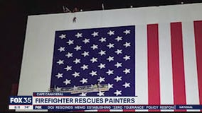 Firefighter saves painters at Kennedy Space Center