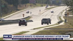 Florida lawmaker wants to rename highway after President Trump