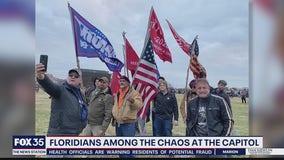 Floridians among the chaos at U.S. Capitol
