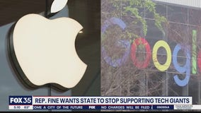 Lawmaker wants Florida to divest state funds from big tech