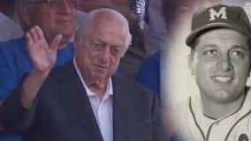 Sports world, LA community pays tribute to Dodger legend Tommy Lasorda