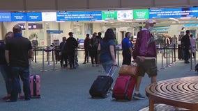 Orlando International Airport sees busiest weekend of holiday season