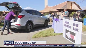 Food drive-up event serves 500 families impacted by pandemic