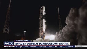 SpaceX will attempt to launch Falcon 9 rocket on Sunday