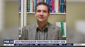 UCF professor fights to keep job