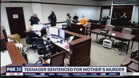 Teenager sentenced for mother's murder