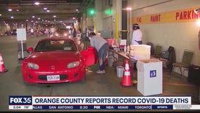 Orange County reports record COVID-19 deaths