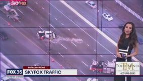 Major crash shuts down I-4 westbound near Lee Road