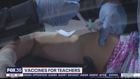 Central Florida school districts to begin vaccinating eligible employees