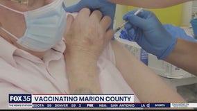 Marion County begins coronavirus vaccinations
