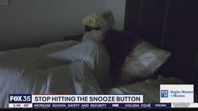Stop hitting the snooze button