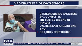 Vaccinating Florida's seniors at healthcare facilities