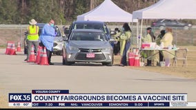 Volusia County Fairgrounds become vaccine site