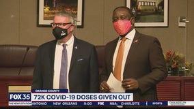 Orange County mayor encouraging second vaccine dose