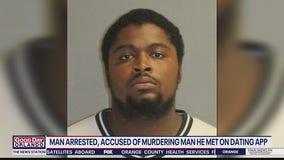 Man arrested, accused of murdering man he met on dating app