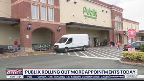 Publix opens up 45,000 COVID-19 vaccine appointments on Friday
