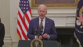 Busy first few days in office for President Biden