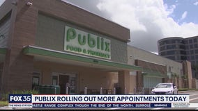 45K COVID-19 vaccine appointments at Publix fill up