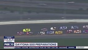 Daytona 500 preparations