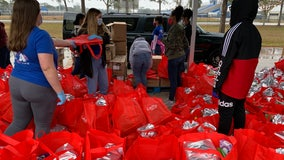 'Feed the Need' food giveaway helps more than 500 Apopka families