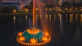 Lake Eola fountain will light up amber to honor COVID-19 victims