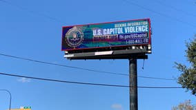 Billboard in Orlando requests tips on the U.S. Capitol violence