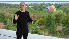 Apple CEO Tim Cook lambasts tech rivals ahead of user privacy update