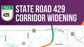State Road 429 widening in Orange County to begin this summer