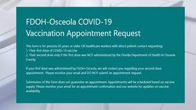 Health Dept. in Osceola County changing vaccination appointment system