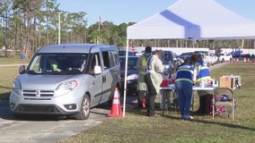 Volusia County Fairgrounds opens as COVID-19 vaccination site