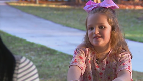 Little girl with a big heart creates care packages for the homeless