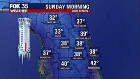 Keep the jackets out: Chilly weekend ahead for Central Florida