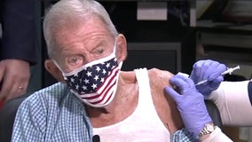 WWII fighter pilot is millionth Florida senior vaccinated