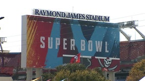 Super Bowl LV will host 22,000 fans, including 7,500 vaccinated health care workers