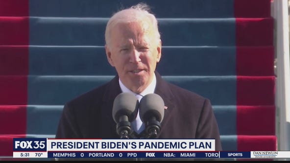 President Biden gets to work on pandemic plan