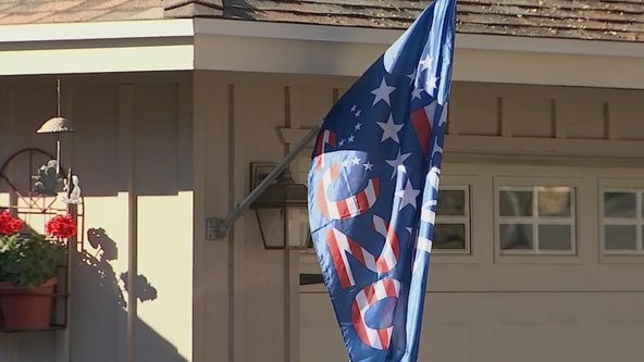 Phoenix woman receives note demanding she take down Trump flag