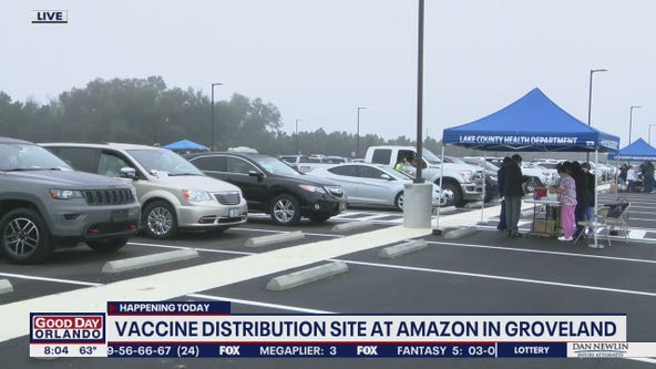 COVID-19 vaccine site at Lake County Amazon center reaches capacity
