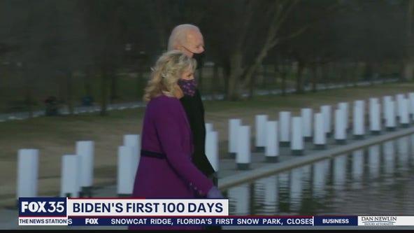 Biden's first 100 days