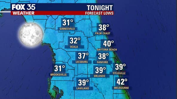 Freeze warnings to go into effect Tuesday in parts of Central Florida