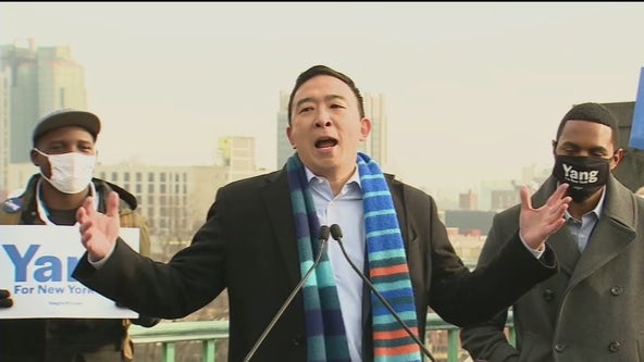 Andrew Yang running for NYC mayor