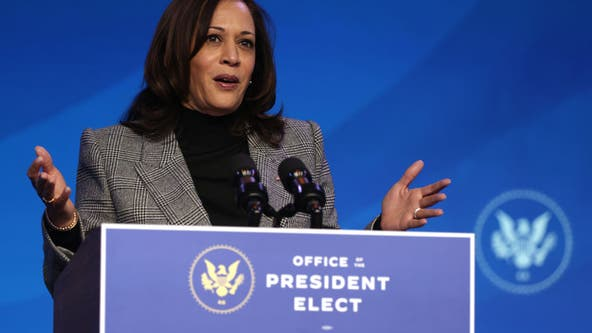 Kamala Harris resigns Senate seat ahead of Inauguration Day